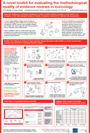 Poster for Eurotox 2014: The PFS Literature Review Appraisal Toolkit